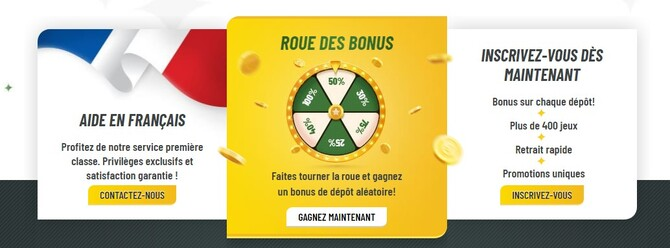 bonus machance casino