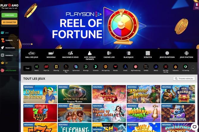 official playamo casino